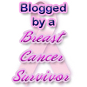 breast cancer survivor blog buttons