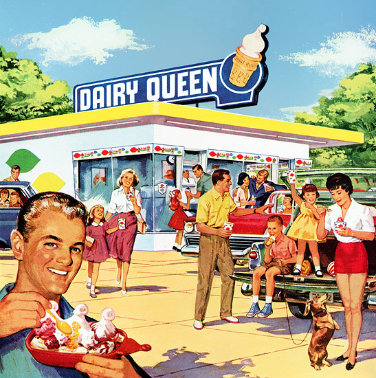 old dairy queen picture