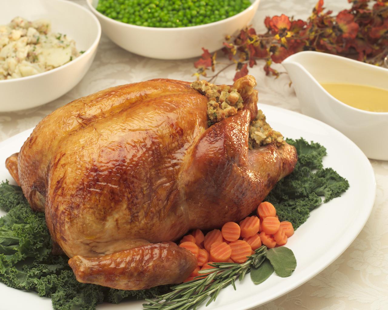 Turkey and Peas
