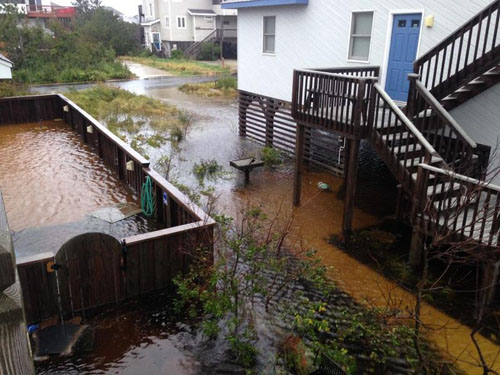obx flooding