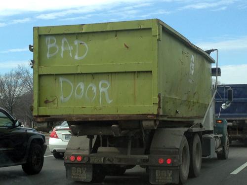 bad door truck