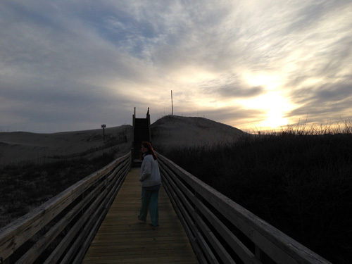 outer banks walkway