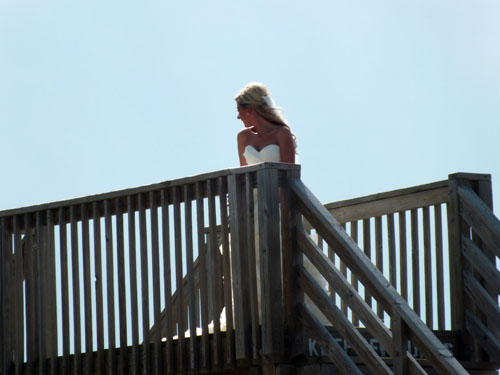 Outer Banks bride