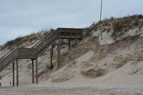 dunes after joaquin