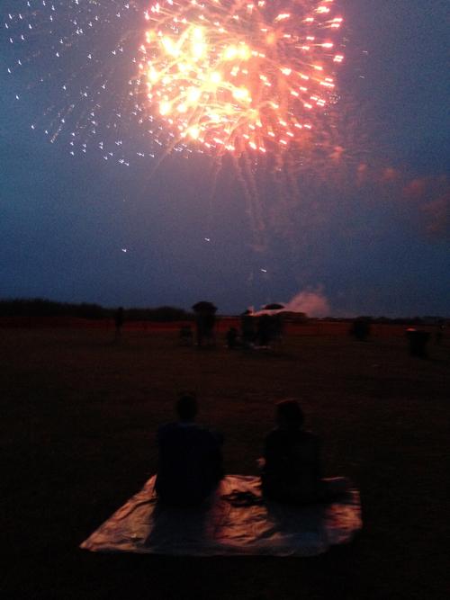 fireworks at whalehead 2015