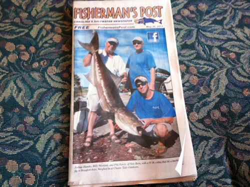 fisherman's post paper