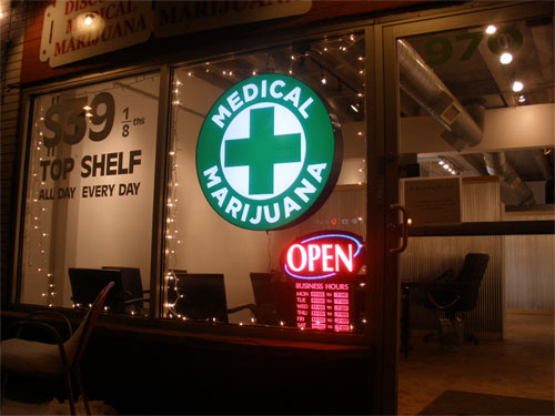 medical marijuana shop