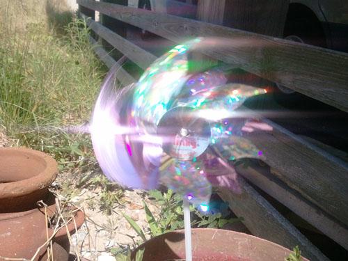 pinwheel spinning