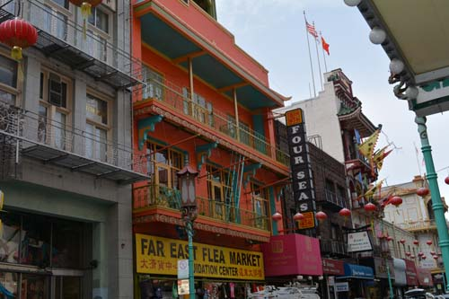 china town architecture