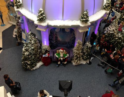 McArthur Center Santa