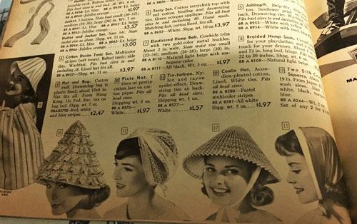 vintage hats sears